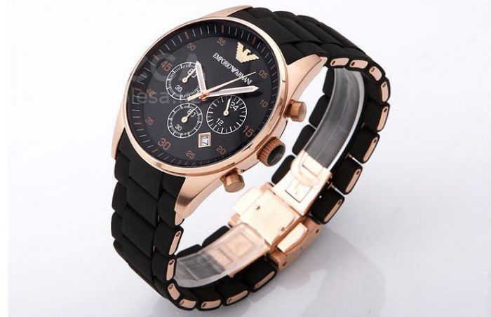 этим сообщением emporio armani men's watch (ar5905) black производства