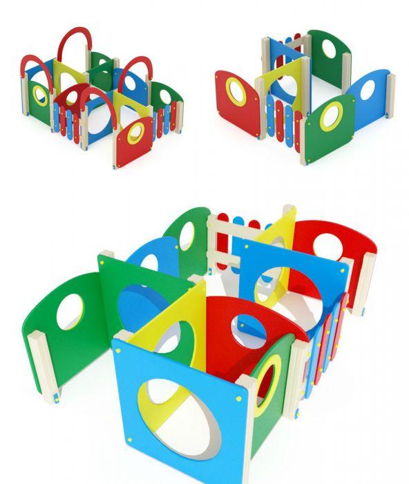 Лабиринт для детской площадки